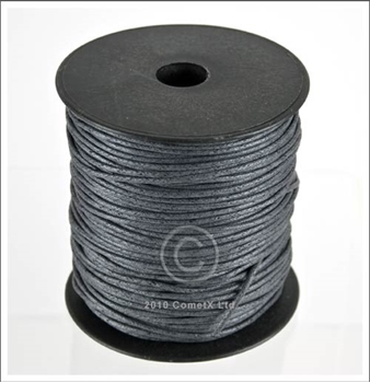Picture of Cotton Thong (2mm) - Grey (Per Meter)