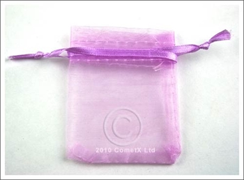 Picture of Organza Pouch (Lilac) - 5.5 x 7cm