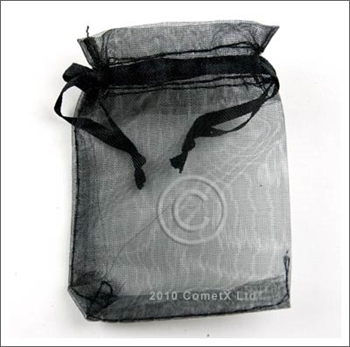 Picture of Organza Pouch (Black) - 5.5 x 7cm
