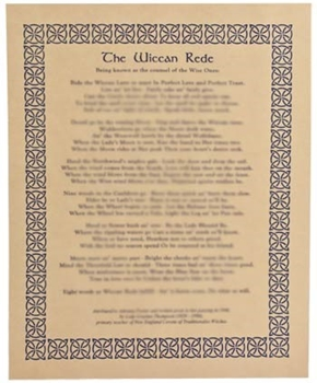 Picture of The Wiccan Rede (Full Edition) - Quick Reference