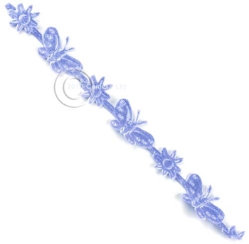 Picture of Ribbon - Butterfly Die Cut (Lavender)  PER METER