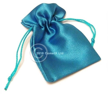 Picture of Satin Pouch - Sky Blue (Sml)