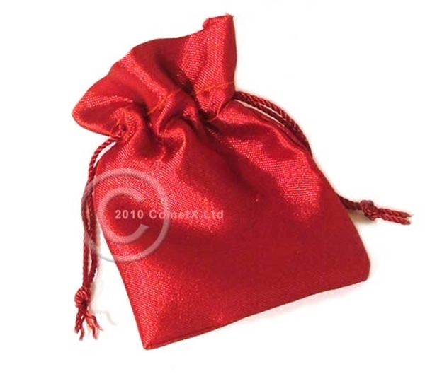 Picture of Satin Pouch - Red (Sml)