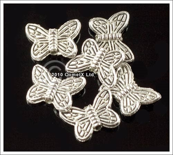 Picture of Butterfly Spacer Beads - Pack 20
