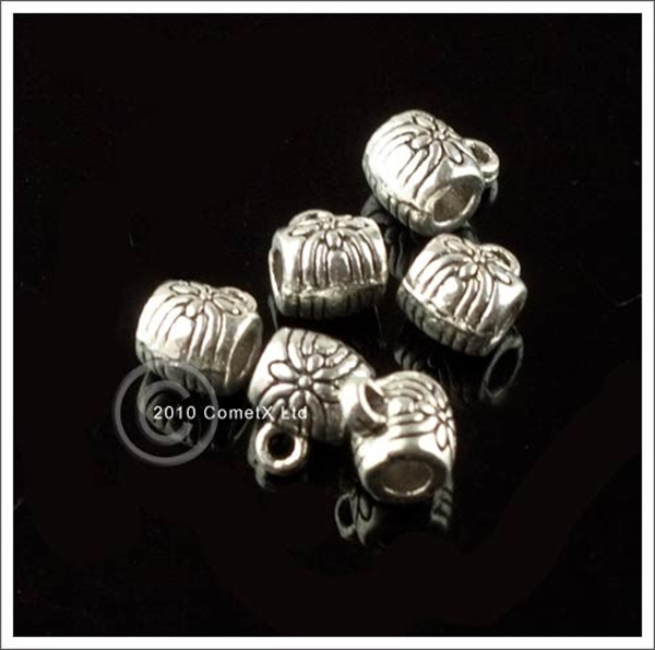 Picture of Charm Hanger Spacer Beads - Pack 20