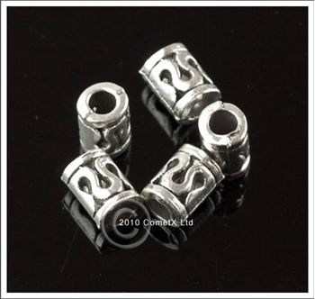 Picture of Tube Spacer Beads  - Metal (Pk 20)