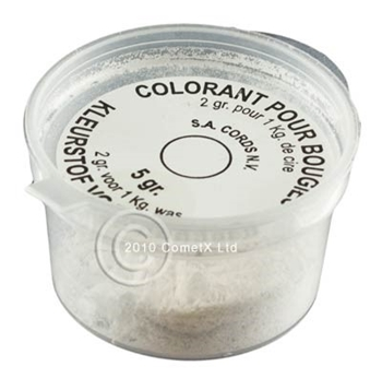 Picture of Candle Dye Pellets - White (5g)