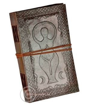 Picture of Leather Journal - Goddess (5x9inch)