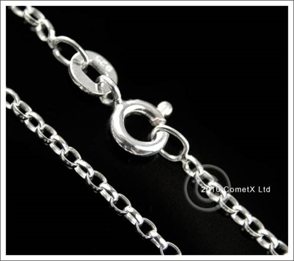 Picture of Belcher Chain - Sterling Silver (24inch)