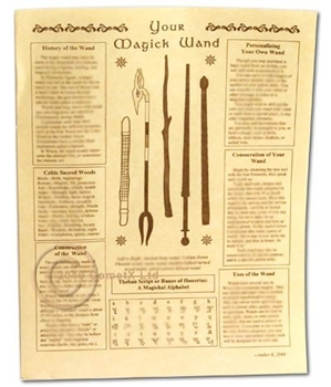 Picture of Magick Wand - Quick Reference Guide (A4)