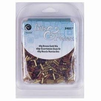 Picture of Seed Bead Mix - Brown (60g)