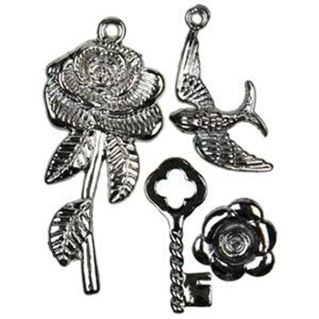 Picture of Gothic Charm Set - Set of 4
