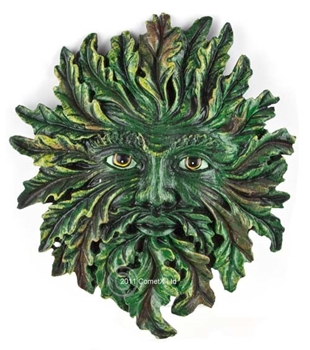 Picture of Green Man Plaque - Spring