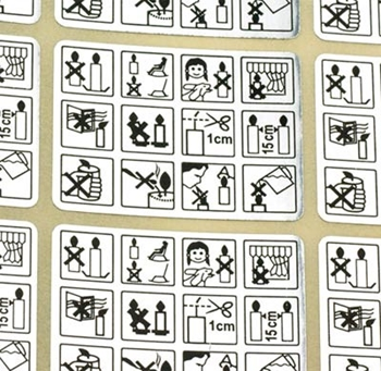 Picture of Safety Labels - Picture (Sheet 24)