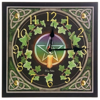 Picture of Clock - Candle And Ivy