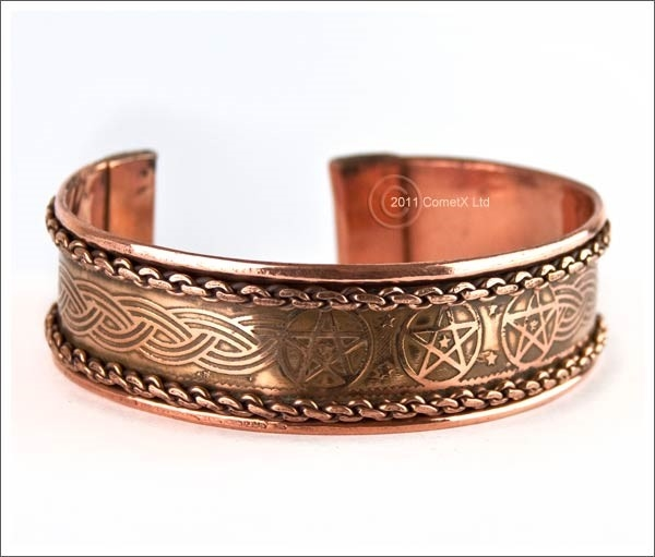 Picture of Pentacle Bangle - Copper