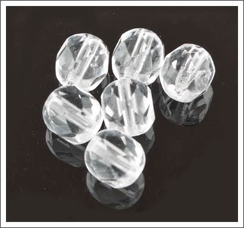 Picture of Crystal Faceted Glass - 6mm (PK 50)