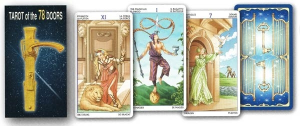 Picture of Tarot Of The 78 Doors Deck