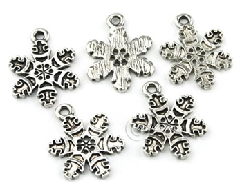 Picture of Snowflake Charm - Large (Pk 5)