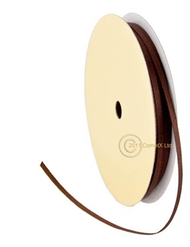 Picture of Ribbon (Chocolate Brown) - 3mm  (PER METER)