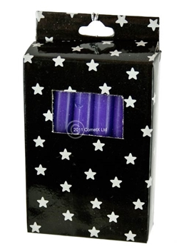 Picture of Magic Spell Candles (Box of 12) - Purple