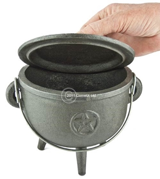 Picture of Cauldron (Pentagram) - 15cm (Straight Sided)