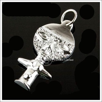 Picture of Good Health and Fertility Goddess Pendant - Pewter