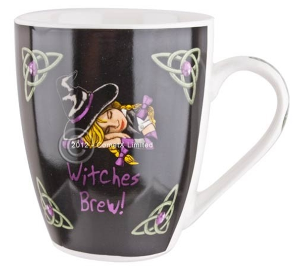 Picture of Witches Brew (Lisa Parker)- Bone China Mug