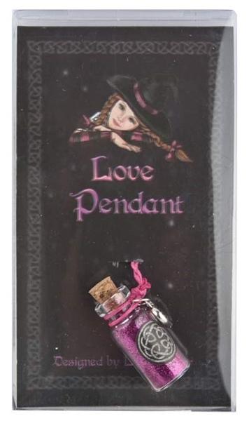 Picture of Love - Spell Bottle Pendant (Lisa Parker)