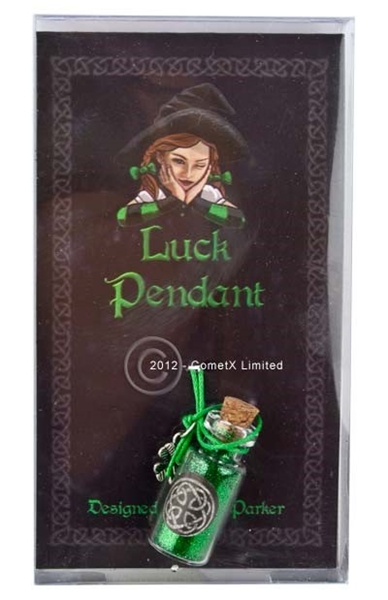 Picture of Luck - Spell Bottle Pendant (Lisa Parker)