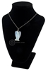 Picture of Angel Pendant - Opalite (With Black Cord)