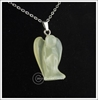 Picture of Angel Pendant - New Jade (With Black Cord)