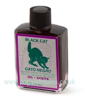Picture of Black Cat  Oil