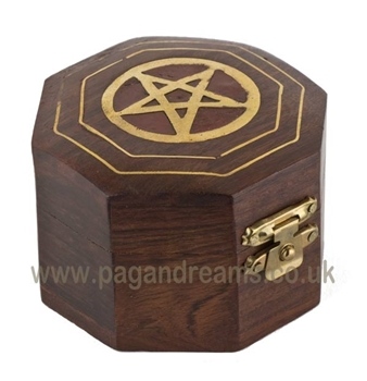 Picture of Pentacle Box - Octogonal (Natural)