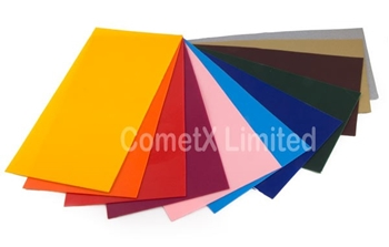 Picture of Decorative (Applique)  Wax Sheets - Assorted Colours (Pk 12)