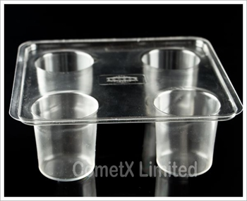 Picture of Votive Candle Mould ( 4 Cavity Tray)