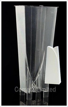 Picture of Divided Arch Pyramid Mould - Polycarbonate