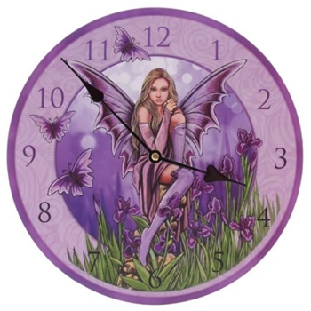 Picture of Clock - Iris Fairy