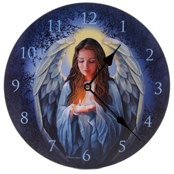 Picture of Clock - Guiding Angel