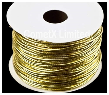 Picture of Elastic Cord - Gold (Per Meter)