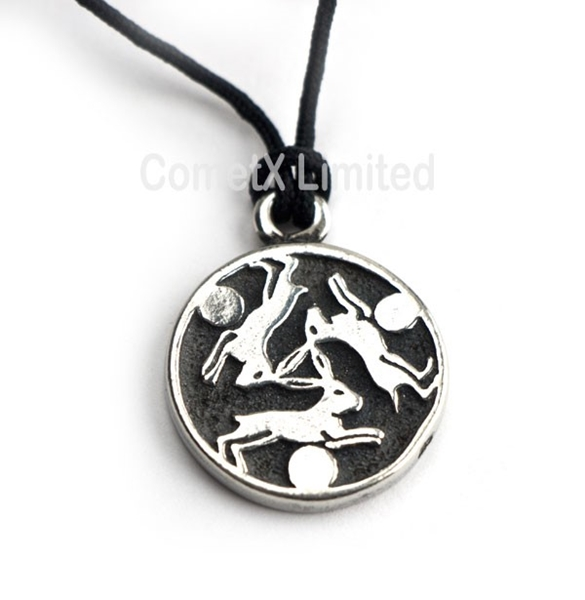 Picture of Hare Trinity - Pewter
