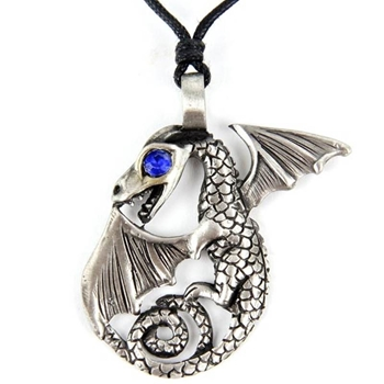 Picture of Dragon (Jewelled Eye) - Pewter