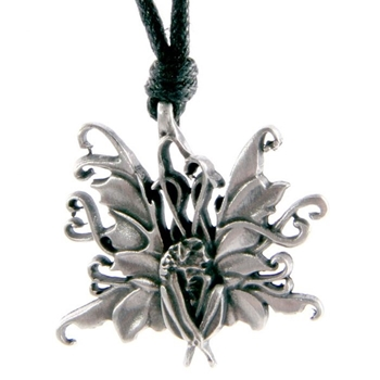 Picture of Fairy (Flower) Pendant - Pewter