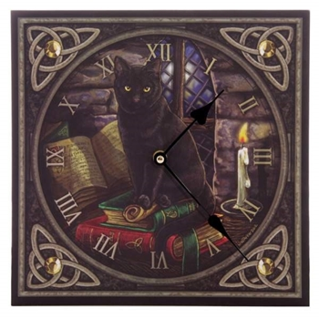Picture of Clock - Black Cat And Spell Book