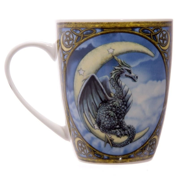 Picture of Moon Dragon - Bone China Mug