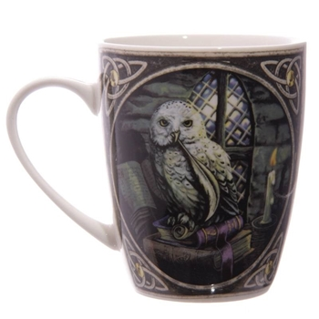 Picture of Snowy Owl - Bone China Mug
