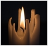 Picture of Star Pillar Candle - FINAL BARGAIN