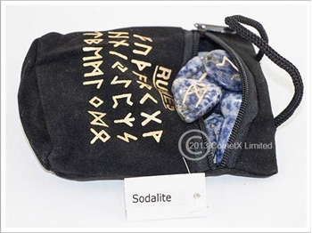 Picture of Sodalite Runes (Flat)