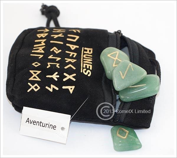 Picture of Aventurine Runes (Flat)