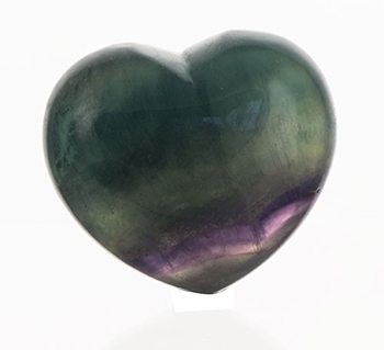 Picture of Chinese Fluorite Puff Heart